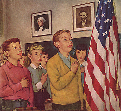 essay on pledge of allegiance in schools